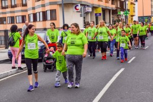 Vuelta de paseo y las familias