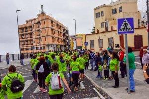 carrera por el autismo en La Palma