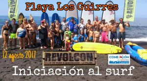 Iniciación al surf para el Autismo en La Palma 2017