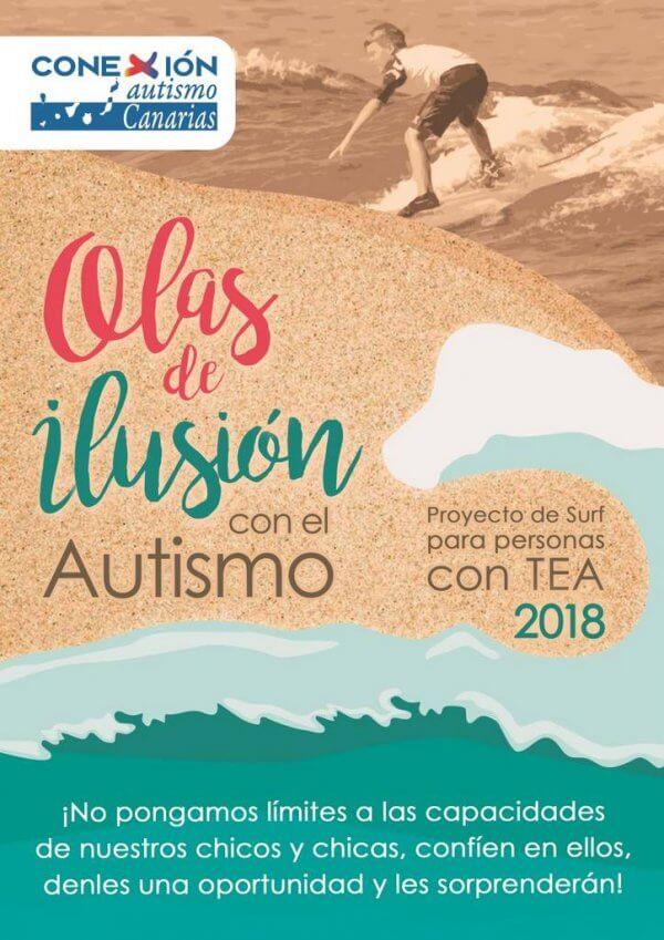 Olas de Ilusión por el Autismo en Tenerife