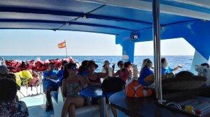 excursión barco La Palma (autismo)