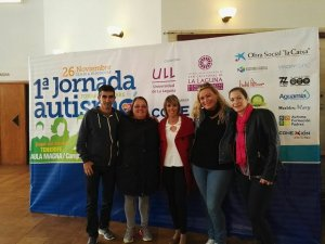 Jornada Autismo Tenerife mamás de La Palma