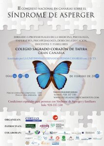 cartel II Congreso Nacional Asperger en Canarias