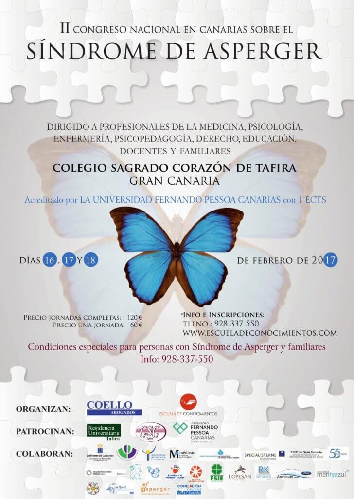 II Congreso Nacional de Asperger en Canarias