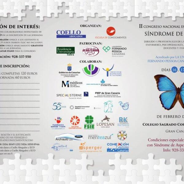 programa del II Congreso Nacional de Asperger en Canarias (pag. 1)