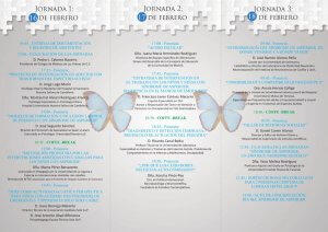 programa del II Congreso Nacional de Asperger en Canarias (pag. 2)