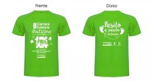 Camiseta Carrera Autismo La Palma