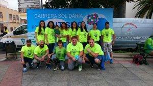Los voluntarios