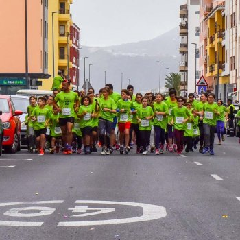 Carrera autismo en La Palma
