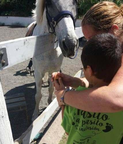 Conexión Autismo Canarias Caballos La Palma 2017