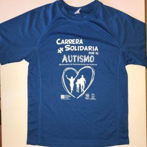 camiseta Carrera Autismo La Palma 2016