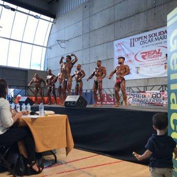 Open culturismo solidario Oscar Marin 2017