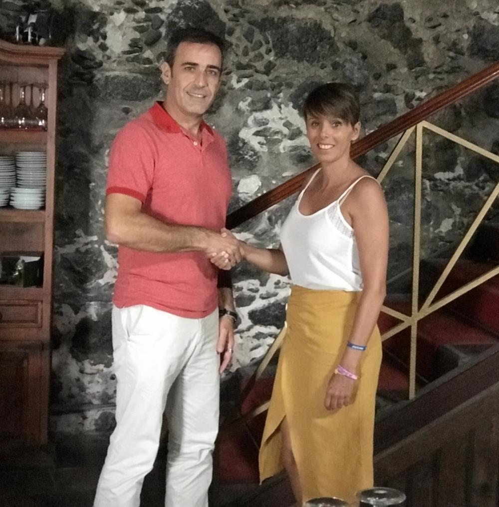 Ayuntamiento de San Andrés y Sauces nos dona la taquilla del evento de elección de la reina de sus fiestas patronales