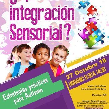 Cartel Curso Terapia Ocupacional en La Palma