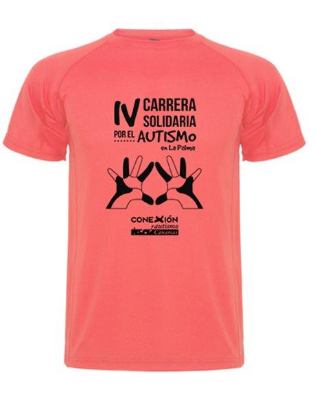 Delante Camiseta Carrera Autismo La Palma 2019