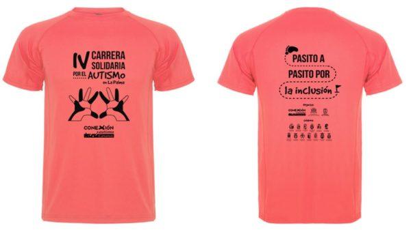 Camiseta Carrera Autismo La Palma 2019
